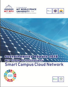 Campus Sustainability Report of MIT Group of Institutions