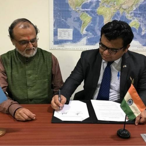 TERRE Policy Centre signs MoU with International Youth Committee