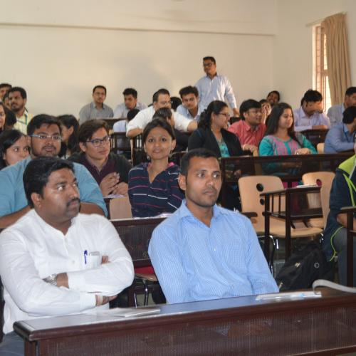 SCCN Orientation in Symbiosis Institute of International Business (SIIB), Pune, India